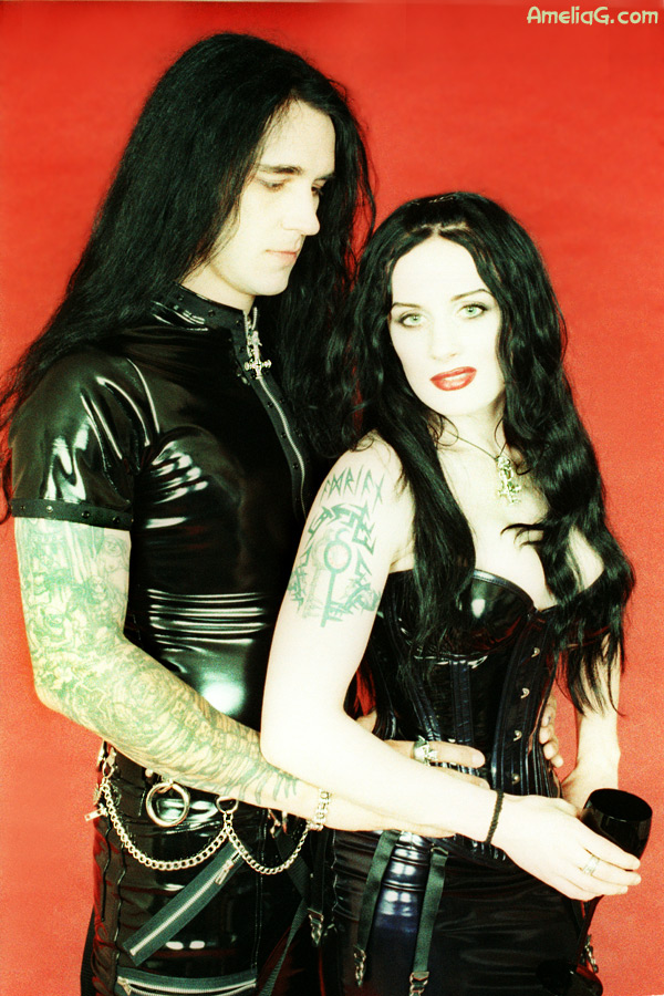 Adrian Erlandsson & Morrigan Hel (Cradle of Filth, Nemhain)