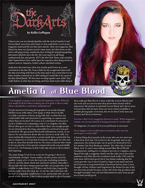 kellie laplegua interviews amelia g