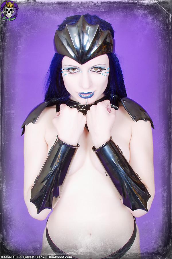 scar 13 and darenzia, blue blood, erotic fandom